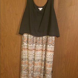 Crop top dress XL